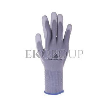 Rękawice dziane z poliestru (100%), dłoń powlekana Poliuretanem, ścieg 13 szare rozmiar 10 VE702PG10-217415