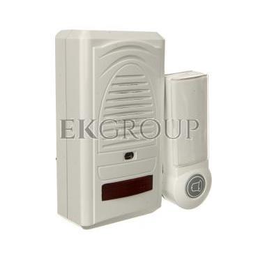 Dzwonek bezprzewodowy 60m 230V 6898-80 biały P5705-215585