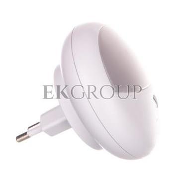 Lampka nocna LED OL 02R 0,85W z czujnikiem zmierzchowym biała 1173210-201433