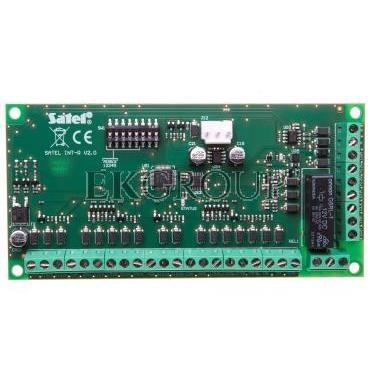 Moduł rozbudowy czytników kart/pastylek centrali systemu alarmowego serii INTEGRA, Satel INTR-216189