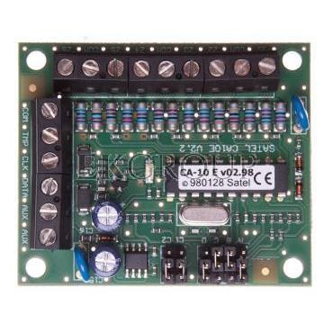 Moduł rozbudowy wejść centrali systemu alarmowego, do central serii CA-10, Satel CA-10 E-216194