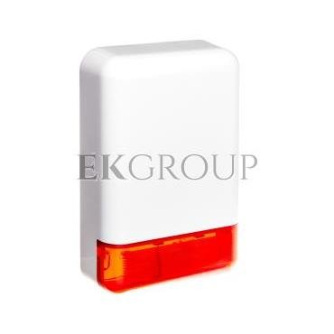 Sygnalizator optyczno-akustyczny, zewnętrzny, czerwone światło LED SPL-2030 R-217559