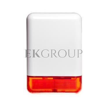 Sygnalizator optyczno-akustyczny, zewnętrzny, czerwone światło LED SPL-2030 R-217560