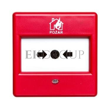 Ręczny Ostrzegacz Pożarowy (ROP), konwencjonalny, wewnętrzny, Satel ROP-100/PL-216949