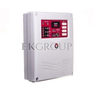 Konwencjonalna centrala sygnalizacji pożaru, 4 linie dozorowe, bez wyświetlacza LCD, CNBOP, Satel CSP-104-215192