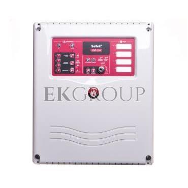 Konwencjonalna centrala sygnalizacji pożaru, 4 linie dozorowe, bez wyświetlacza LCD, CNBOP, Satel CSP-104-215193