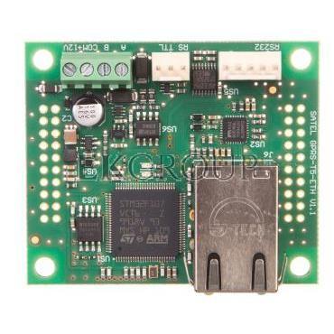 Moduł komunikacyjny z panelem wirtualnym konwencjonalnej centrali sygnalizacji pożaru, Satel CSP-ETH-216195