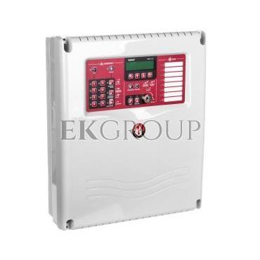 Centrala Sygnalizacji Pożaru (CSP), konwencjonalna, 8 linii, Satel CSP-208-215190