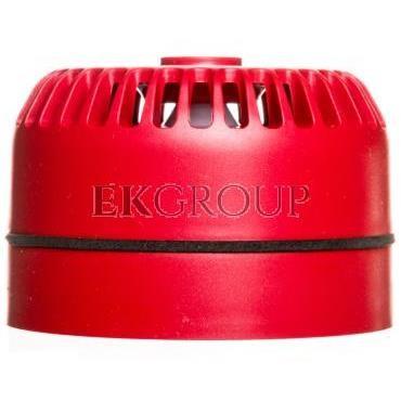Sygnalizator akustyczny pożarowy z niską podstawą, konwencjonalny, Satel SPP-100-217475