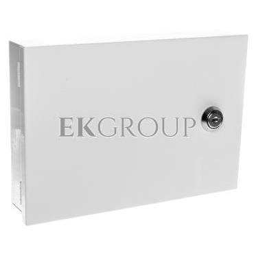 Obudowa klawiatury uniwersalna 215x150x50mm natynkowa biała LCD/B Satel Pulsar AWO353-214992