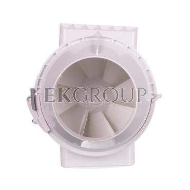 Wentylator kanałowy fi 100 230V 33W 187m3/h 36dB o przepływie mieszanym TT100-218336