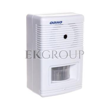 Czujnik ruchu z sygnalizacją i z alarmem 5m biały OR-MA-701-215295