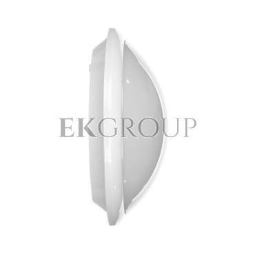 Plafoniera BREVA z czujnikiem  mikrofalowym 60W E27 IP44 poliwęglan mleczny OR-PL-316WE27PMM-206061