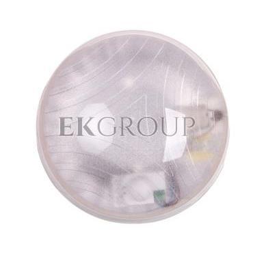 Plafoniera hermetyczna HELM z czujnikiem mikrofalowym 75W E27 IP65 IK10  poliwęglan mleczny OR-PL-344WE27PPM-206305