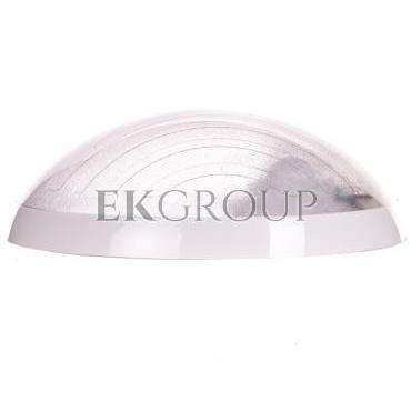 Plafoniera hermetyczna HELM z czujnikiem mikrofalowym 75W E27 IP65 IK10  poliwęglan mleczny OR-PL-344WE27PPM-206306