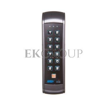 Zamek szyfrowy z czytnikiem kart i breloków zbliżeniowych 12V DC IP55 OR-ZS-803-218788