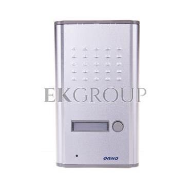 Zestaw domofonowy jednorodzinny z interkomem FOSSA INTERCOM biały/ srebny OR-DOM-RL-902-215457