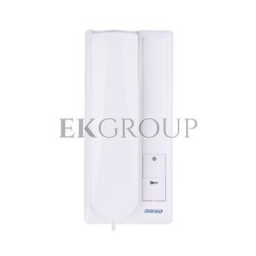 Zestaw domofonowy jednorodzinny z interkomem FOSSA INTERCOM biały/ srebny OR-DOM-RL-902-215458