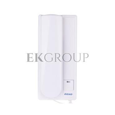 Zestaw domofonowy jednorodzinny FOSSA biały/ srebny OR-DOM-RL-901-215459