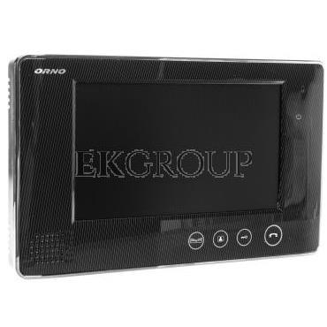 Wideo monitor bezsłuchawkowy 7cali LCD   zasilacz 15V DC otwieranie bramy VP OR-VID-VP-1009MV/B-218405