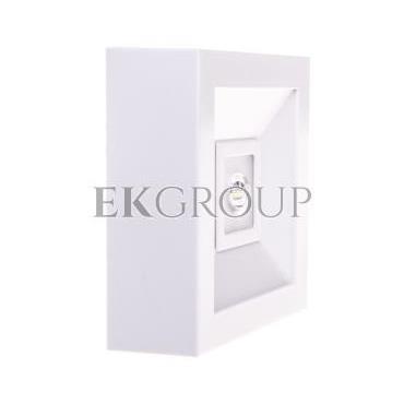 Oprawa awaryjna LED 3W 1h LOVATO N ECO LED 3W (opt. otwarta) jednozadaniowa biała LVNO/3W/E/1/SE/X/WH-200789
