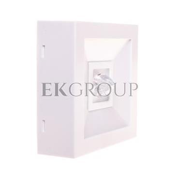 Oprawa awaryjna LED 3W 1h LOVATO N ECO LED 3W (opt. koryt.) jednozadaniowa biała LVNC/3W/E/1/SE/X/WH-200791