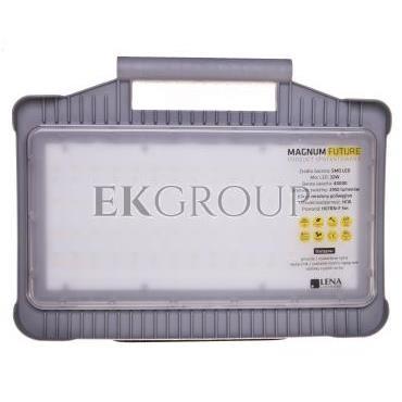 Oprawa warsztatowa LED 32W 230V MAGNUM FUTURE z gniazdami PL-FR /funkcja przedłużacza 2x16A/ 247002-204487