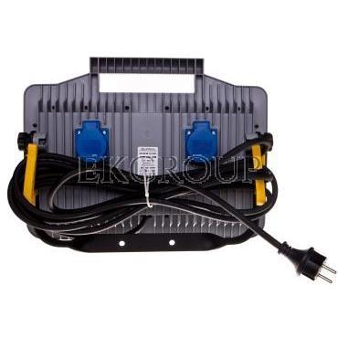 Oprawa warsztatowa LED 32W 230V MAGNUM FUTURE z gniazdami PL-FR /funkcja przedłużacza 2x16A/ 247002-204488