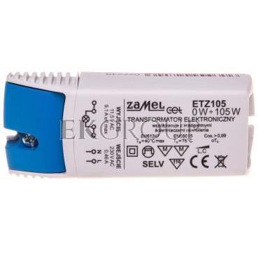 Transformator elektroniczny 230/11,5V 0-105W ETZ105 LDX10000038-208152