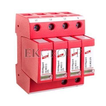 Ogranicznik przepięć C Typ 2 4P 12,5kA 1,5kV ( z wbudowanym bezpiecznikiem) DEHNguard M TNS CI 275 952401-216674