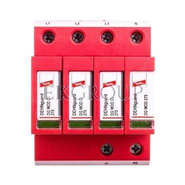 Ogranicznik przepięć C Typ 2 4P 12,5kA 1,5kV ( z wbudowanym bezpiecznikiem) DEHNguard M TNS CI 275 952401-216675