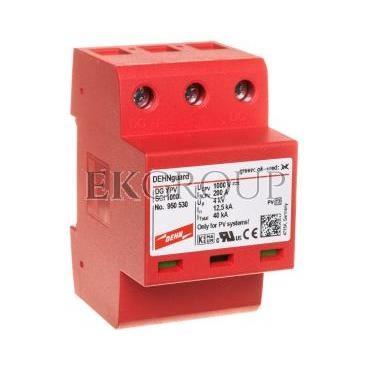 Ogranicznik przepięć C Typ 2 PV 1000V DC 3P 12,5kA 4kV DEHNguard compact YPV SCI 1000 950530-216323