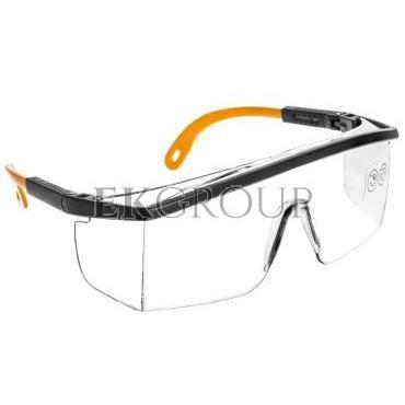 Okulary ochronne z poliwęglanu jednoczęściowe bezbarwne KILIMANDJARO KILIMGRIN-216938