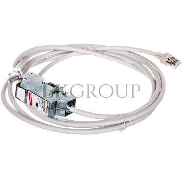 Ogranicznik przepięć DEHNpatch CAT6, adapter wtyk RJ45/wtyk RJ45, do sieci LAN 1Gb, ATM, FDDI, CDDI 929100-216452