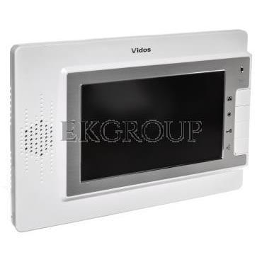 Wideodomofon /monitor 7'' sterowanie bramy, zasilacz 4,5V 19W/ MK-04W-218427