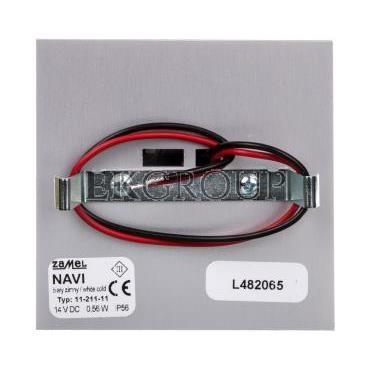 Oprawa LED NAVI z ramką PT 14V DC ALU biała zimna 11-211-11 LED11121111-201480