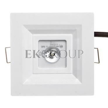 Oprawa LOVATO P LED 3W (opt. otwarta) 3h jednozadaniowa biała LVPO/3W/C/3/SE/X/WH-200912