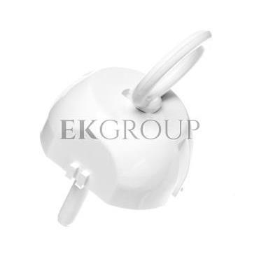 Zatyczka gniazda /zabezpieczenie przed dziećmi/ z kluczem biała ZG-1-205659