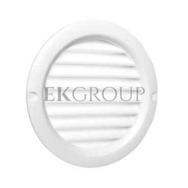 Kratka okrągła z siatką 100mm biała WPFMV100BVWH-215141