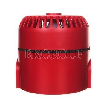 Sygnalizator akustyczny ROLP 9-28VDC 10dB czerwony głęboki 32 tony CNBOP ROLP/SV/R/D  540503FULL-0403X-217504