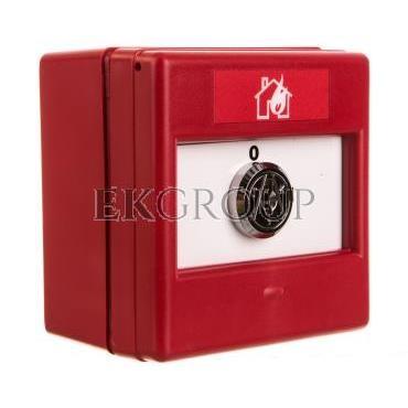 Przełącznik kluczykowy 2-pozycyjny 1Z 1R IP24D CXK/2/R/BB/4T 4942010FUL-0047-216991
