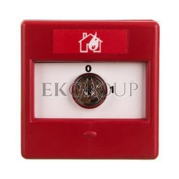 Przełącznik kluczykowy 2-pozycyjny 1Z 1R IP24D CXK/2/R/BB/4T 4942010FUL-0047-216992