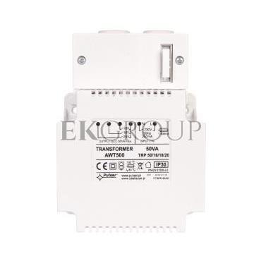Zasilacz niebuforowy transformatorowy 230VAC 3A/2,8A/2,5A TRP 50VA/16V/18V/20V AWT 500-216207