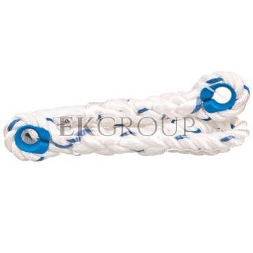 Lina poliamidowa fi 12 mm, 2 pętle z kauszą, długość 1,5 m LO007150-217360