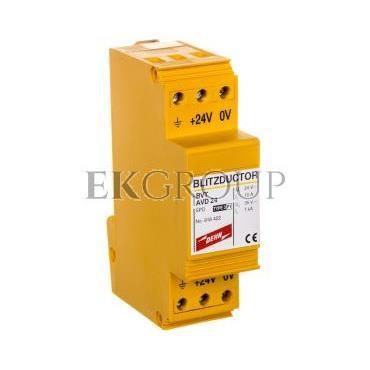 Ogranicznik przepięć Blitzductor VT do ochrony zasilania DC BVT AVD 24 918422-216864