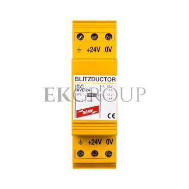 Ogranicznik przepięć Blitzductor VT do ochrony zasilania DC BVT AVD 24 918422-216865
