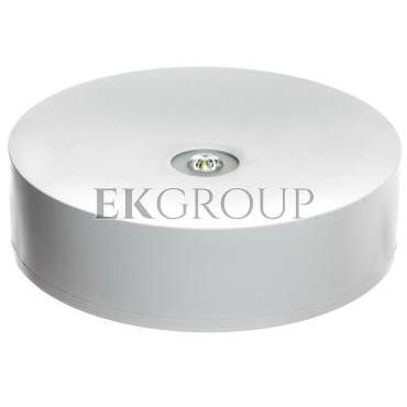 Oprawa AXN IP65 LED 3W 350lm (opt. otwarta) 1h jednozadaniowa AT biała   AXNO/3W/B/1/SE/AT/WH-200994