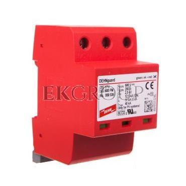 Ogranicznik przepięć C Typ 2 PV 600V DC 3P 12,5kA 2,5kV DEHNguard compact YPV SCI 600 FM 950536-216329