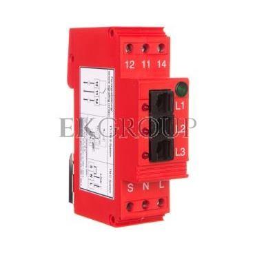 Moduł odbiorczy 230V 3xLWL 3xLED DEHNsignal E 3 910631-217074