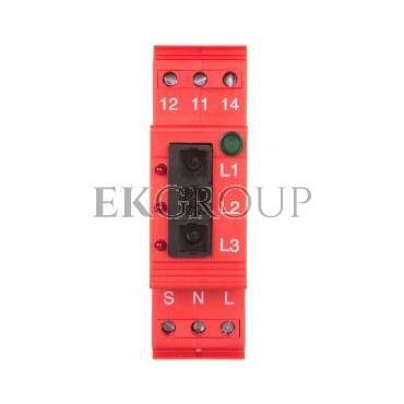 Moduł odbiorczy 230V 3xLWL 3xLED DEHNsignal E 3 910631-217075